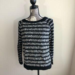 Lou & Grey Long Sleeve Knit Sweater Size Large